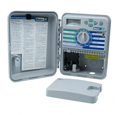 Контроллер Hunter XCore-601-E Наружный пульт управления автополивом на 6 зон купить в алматы обрудование