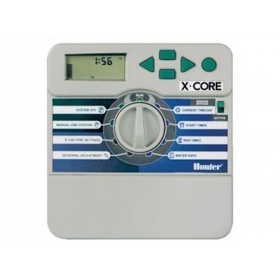 Контроллер Hunter XCore-801i Внутренний пульт управления автополивом на 4 зоны купить в алматы обрудование